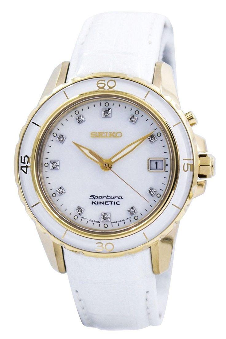 Amazon | セイコー 逆輸入モデル SEIKO スポーチュラ SKA876P1 [海外輸入品] レディース 腕時計 時計 | 並行輸入品・逆輸入品・中古品(レディース) | 腕時計
