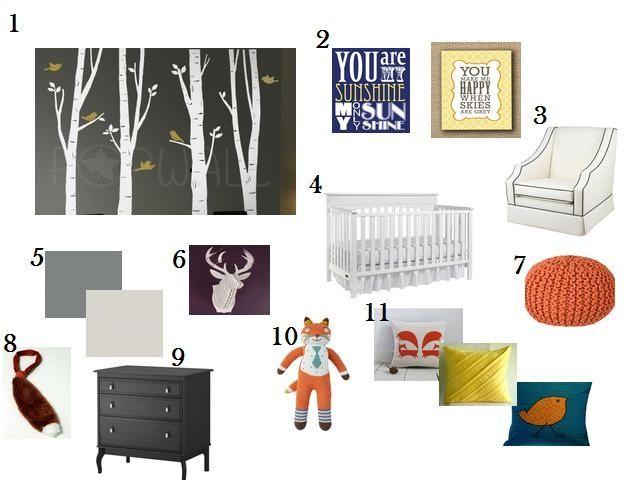 Some Ideas Home Ec Flunkee Fantastic Mr Fox Nursery