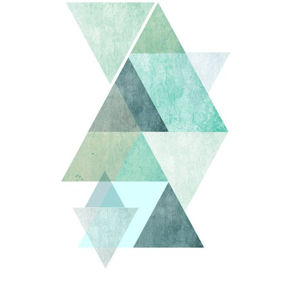 Minimalist Art, Printable, Abstract Art Print, TrianglePrint,... ($6.58) ❤ liked on Polyvore featuring home, home decor, wall art, filler, printable wall art, geometric home decor and geometric wall art
