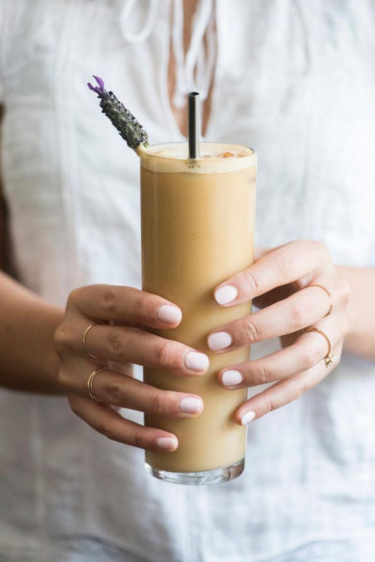 Iced Lavender Coffee | HonestlyYUM