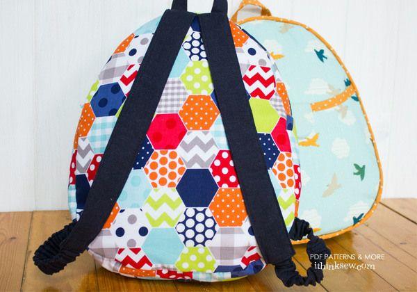 592 Harper Kids Backpack PDF Pattern