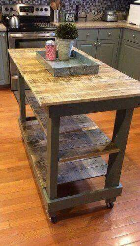 Great kitchen island