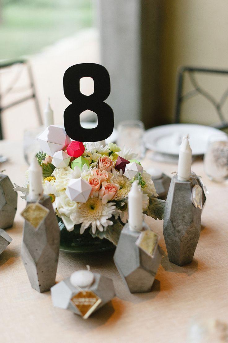 dcoration de mariage gomtrique - Bon De Reduction Decoration De Mariage