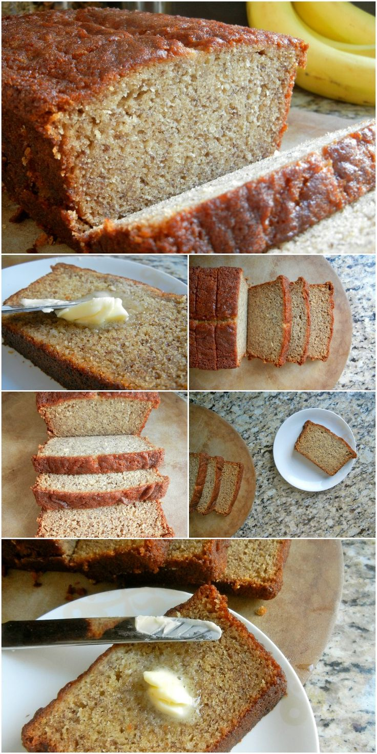 Based on the banana bread recipe from Dominique Ansel, this recipe yields a moist and deliciously dense loaf that is amazing on its own or equally appealing with the addition of chopped nuts, raisins, or chocolate chips. Try it warmed with melted butter, toasted with peanut butter, or swap it for regular white bread in french toast! #sugar. #bananabread #dominiqueansel