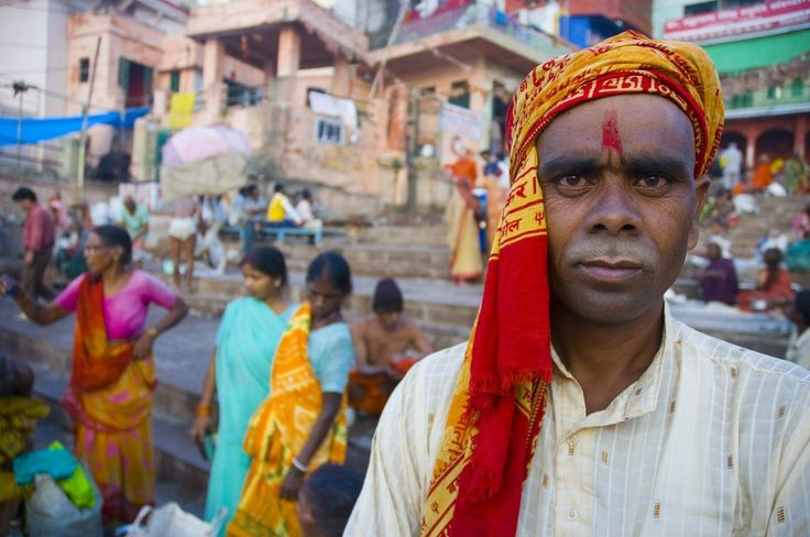 The Ghats of Varanasi.   #ColourfulHorizons