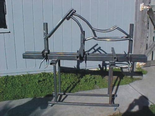 Bicycle-frame-jig-PLANS-Build-custom-chopper-bike-or