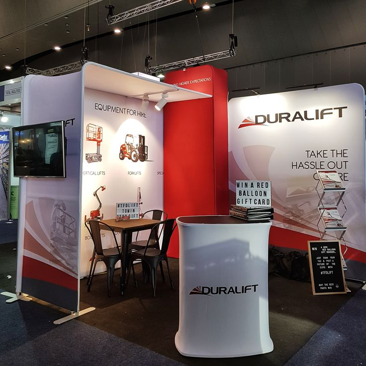 All set and ready to go for the #totalfacilitiesexpo tomorrow and Thursday. Come and see us at stand D37 (and don't forget to tag your pictures with #tfdlift to go in the draw to win a $200 red balloon gift voucher!) It's not too late to register: www.totalfacilities.com.au #totalfacilities