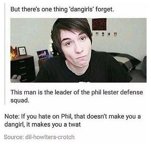 How could anyone hate Phil? He's literally the most happiest, nicest, little ray of sunshine in the whole world.