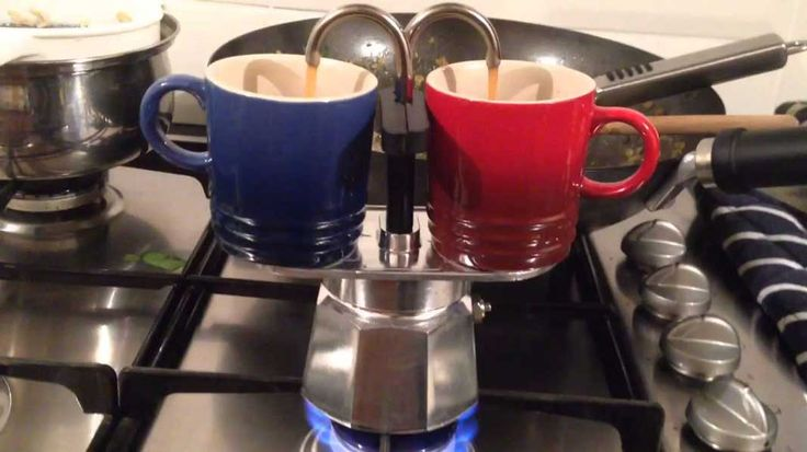 La Mini Express de Bialetti est une cafetière 2 tasses permettant de se faire des expressos comme en Italie, directement sur sa cuisinière.
