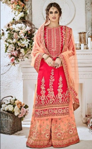 65d2187a852 Bridal collection in geeorgette LATEST FASHION Designer