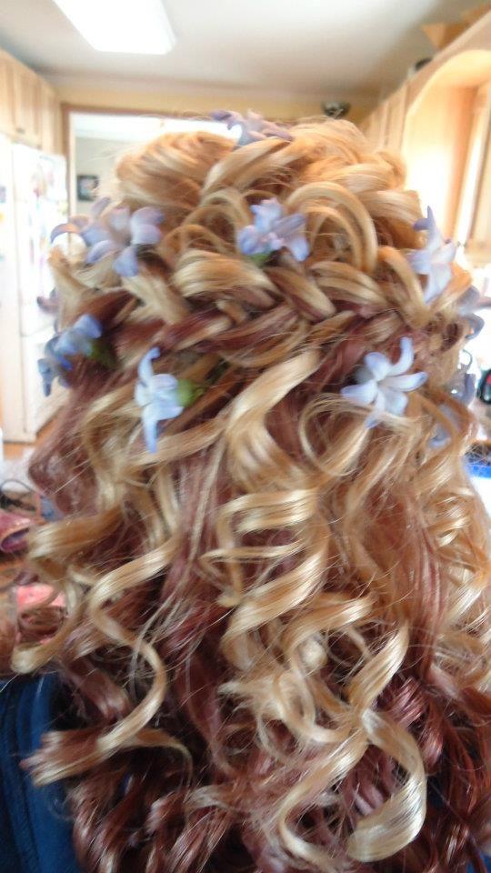 My Prom Hair<3