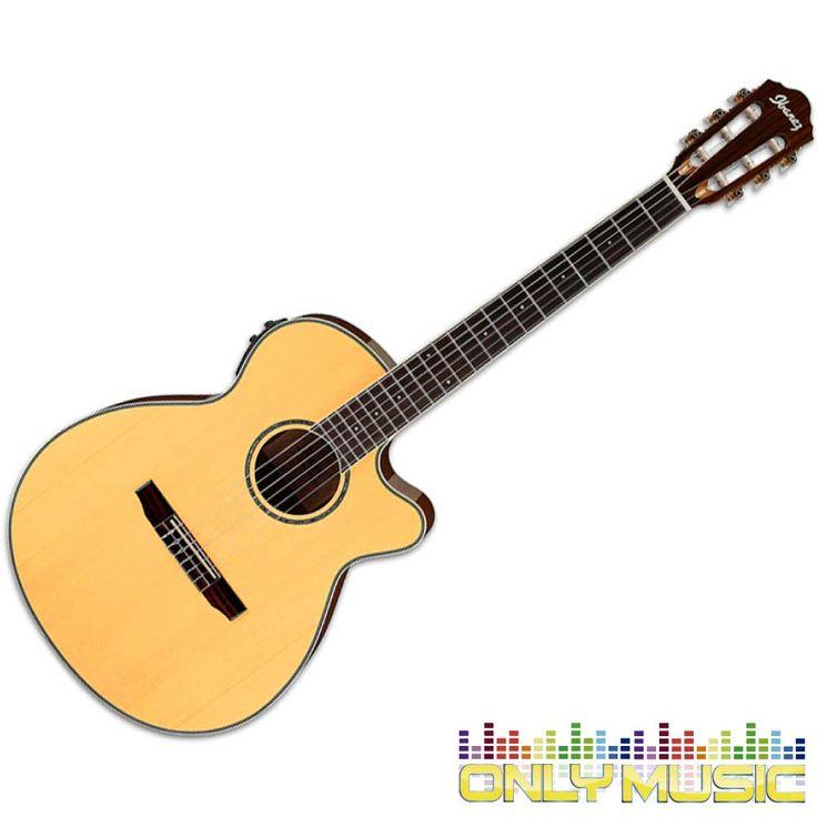 Guitarra Electroacústica Ibanez AEG Natural Cuerdas Nylon