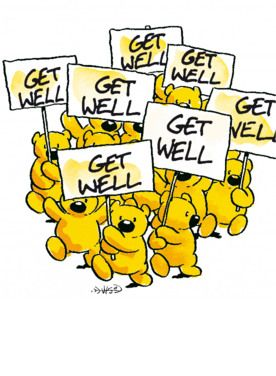 Get well beertjes- Greetz