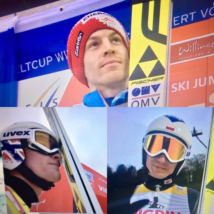 Three of my favorite ski jumpers; Michael Hayböck, Daniel-André Tande and Kamil Stoch