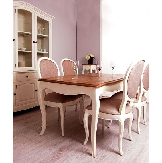 mesa de comedor extensible vintage pars
