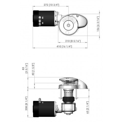 RC8-8 65TDC 8mm~5/16