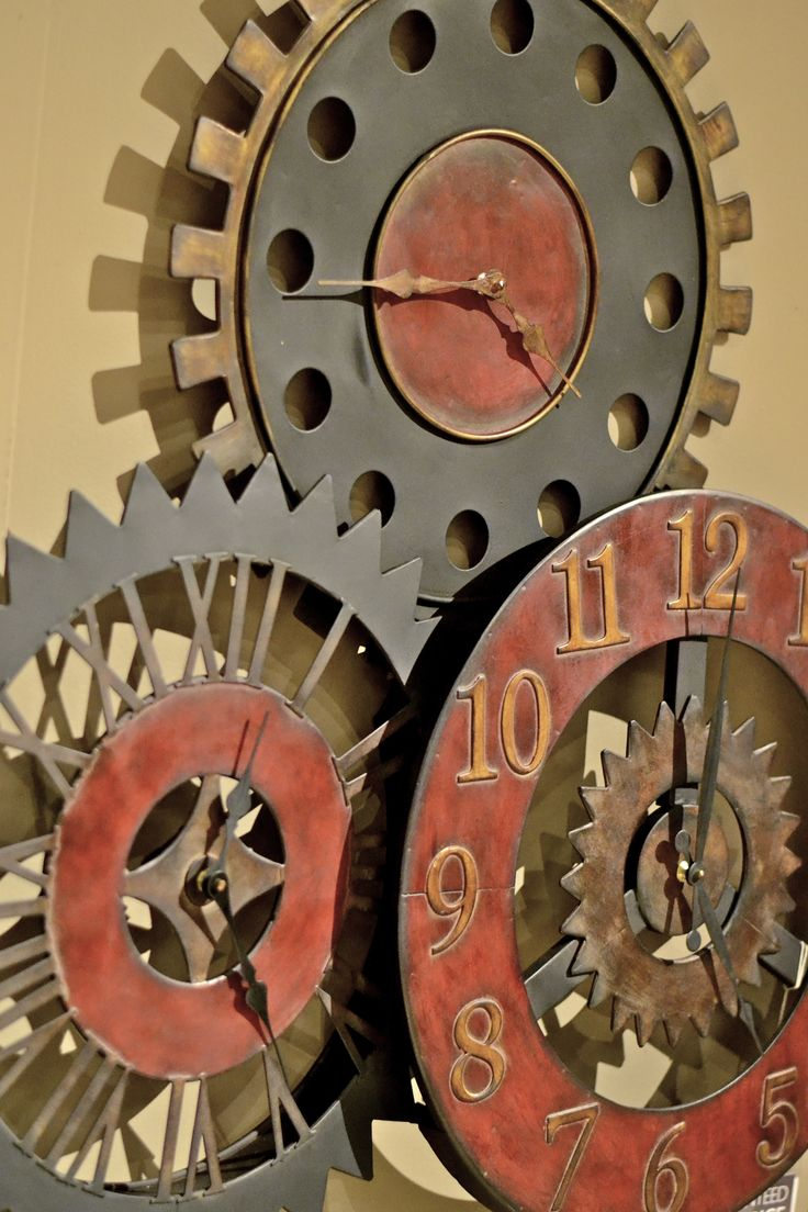 best 20 steampunk furniture ideas on pinterest industrial wine steampunk wall clock from star furniture for 35 bucks less than amazon