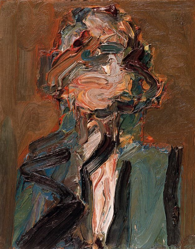 Frank Auerbach, Head of J.Y.M. IV, 1986.