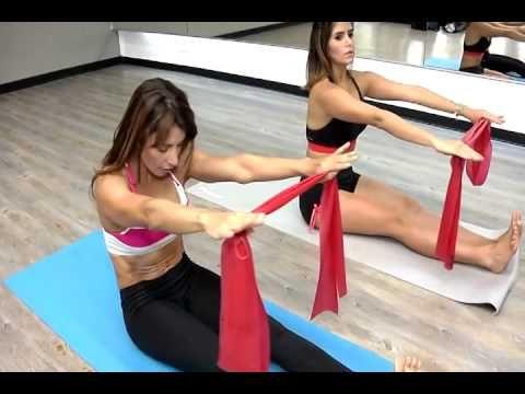Pilates con Bandas Elásticas- Nany Sevilla