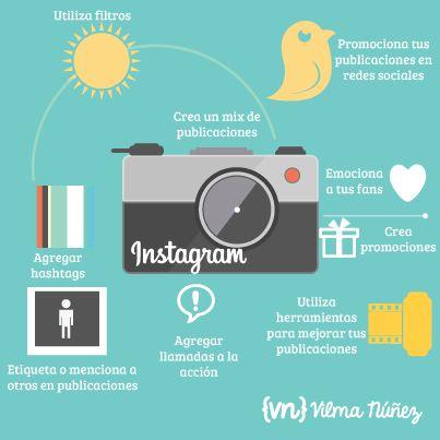 Publicaciones efectivas en Instagram #infografia #infographic #socialmedia