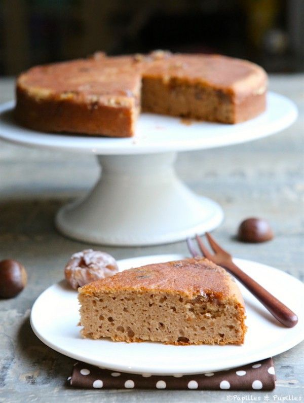Gâteau à la crème de marrons