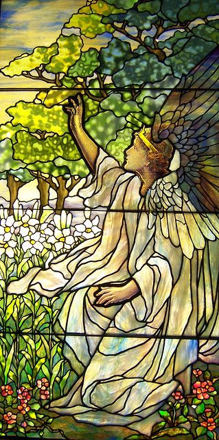 Stained Glass Angel ~ Smith Museum
