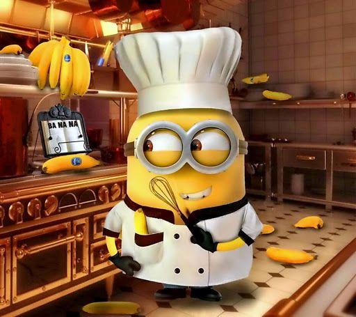 Despicable Me Minion Cooking Wallpaper