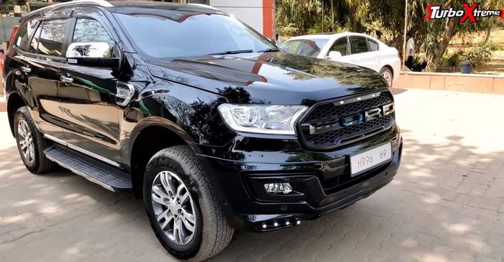 Ford endeavor black edition is a classy slim mode job