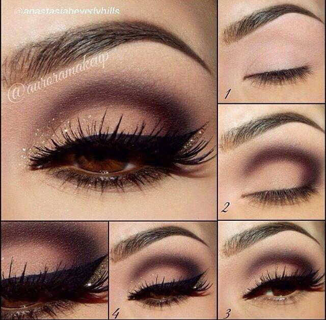 Easy Dramatic Smokey Eye Makeup - Lashes Make-up ...