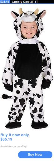 Kids Costumes: Cuddly Cow 3T-4T BUY IT NOW ONLY: $35.19