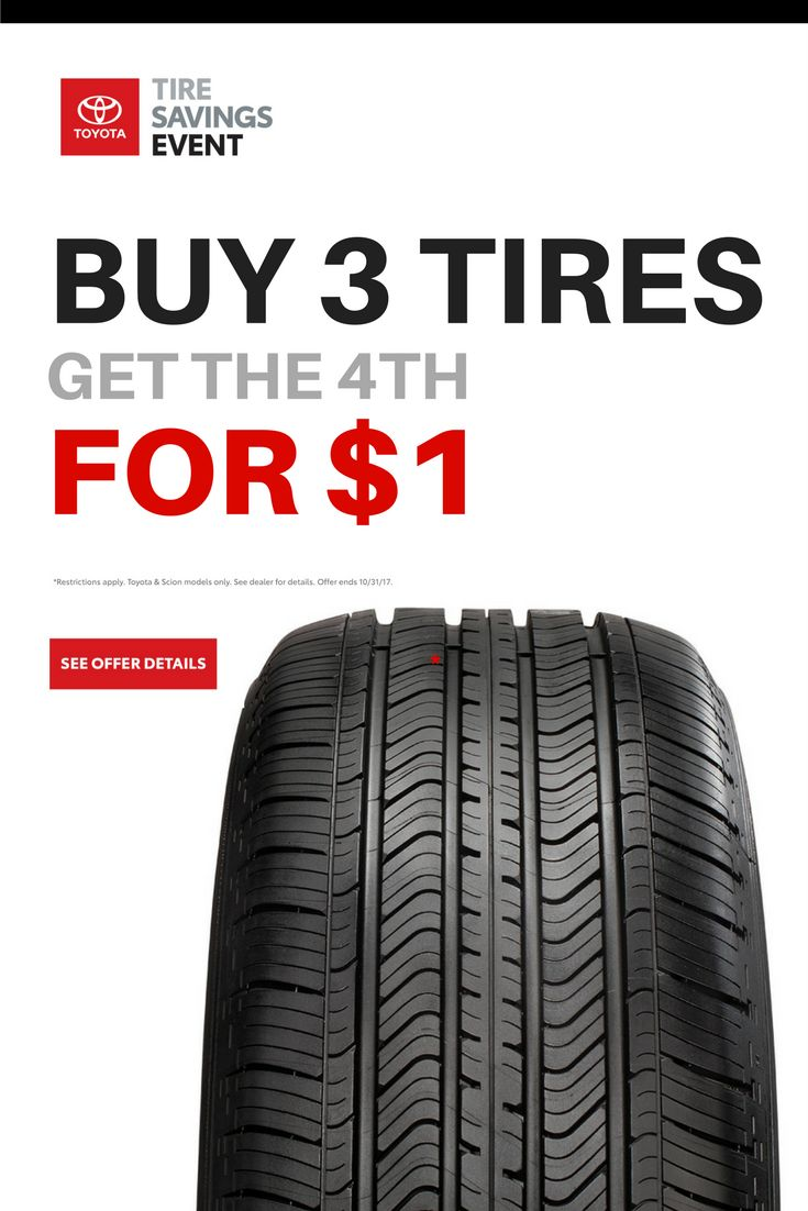 Jaffarian Toyota of Haverhill, Massachusetts celebrates the October Toyota Tire Savings Event. Buy 3 tires, get one for $1. Click for offer details.  #automotive #toyota #vehicles #Tires #carparts