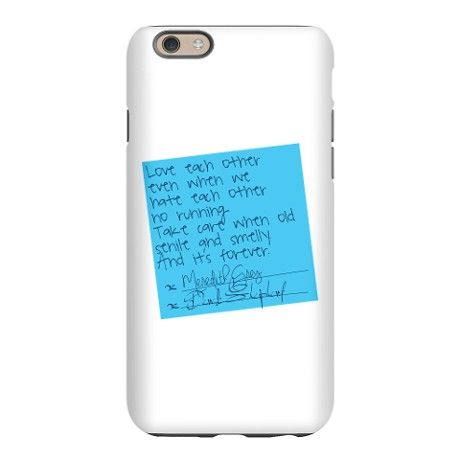 Greys Anatomy: Post It iPhone 6 Slim Case on CafePress.com