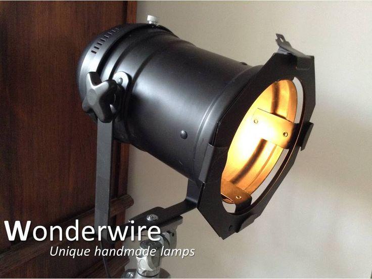Een persoonlijke favoriet uit mijn Etsy shop https://www.etsy.com/listing/275148910/black-tripod-34cm-vintage-studio-lamp