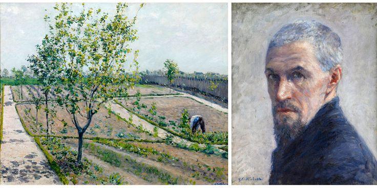 Gustave Caillebotte : à gauche,
