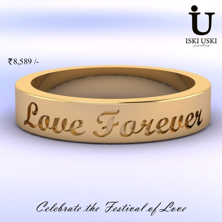 Gift a Love has a wide range of diamond jewellery for Karwa Chauth so send jewellery to your lovely wife at best price    #GoldBand #LoveBand #Bands #IskiUski