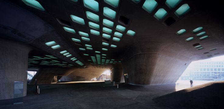 Phaeno Science Centre in Wolfsburg, Germany / by Zaha Hadid Architects