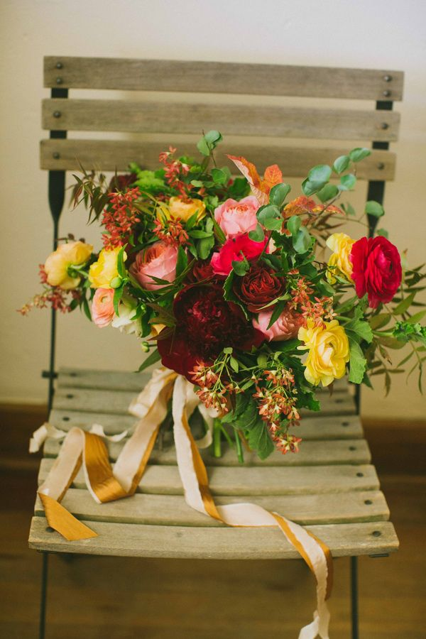 lush fall bouquet, photo by Amber Vickery Photography http://ruffledblog.com/elegant-fall-wedding-ideas-from-texas #bouquets #weddingbouquet #flowers