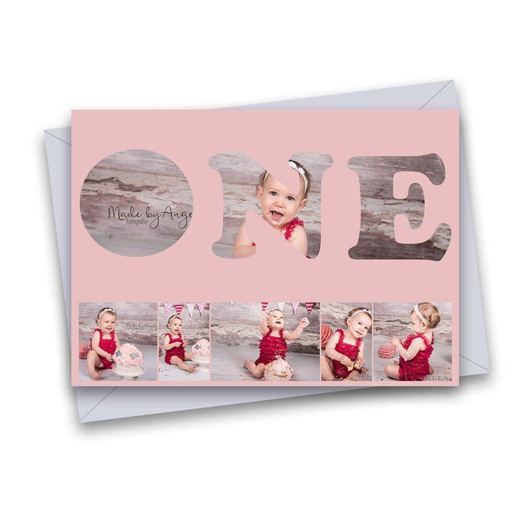 CAKESMASH KAART 1 Verjaardag-kaarten.(jongen en meisje) In de zwarte vakjes kunnen fotos worden geplaatst. Leuk te vullen met bijvoorbeeld fotos van een cakesmash-shoot. Afm. kaart 5×7 inch. Volledig gelaagd Photoshop (PSD) bestand. Teksten kunnen worden aangepast. Lettertypes worden meegeleverd. Te gebruiken met o.a. Photoshop (Elements) en Paintshop pro.