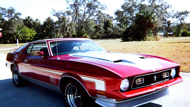 1972 Ford Mustang Mach 1 presented as Lot L55 at Kissimmee, FL