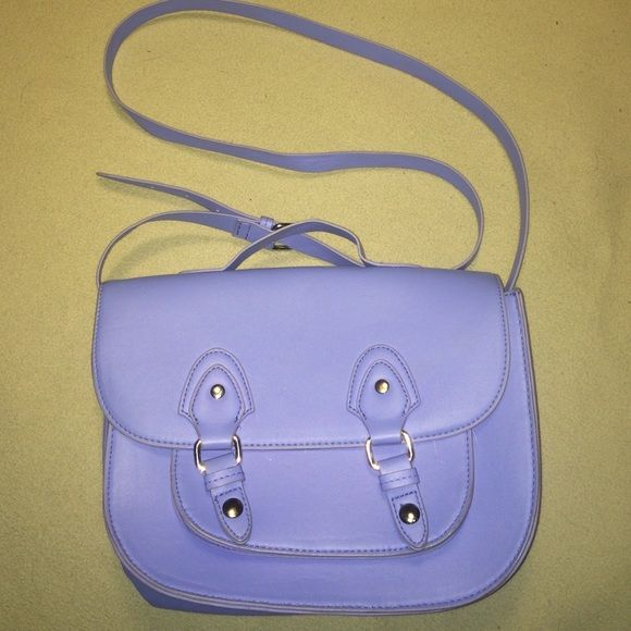 H&M purse Brand new never used NWOT H&M purse periwinkle color purchased in H&M Switzerland H&M Bags