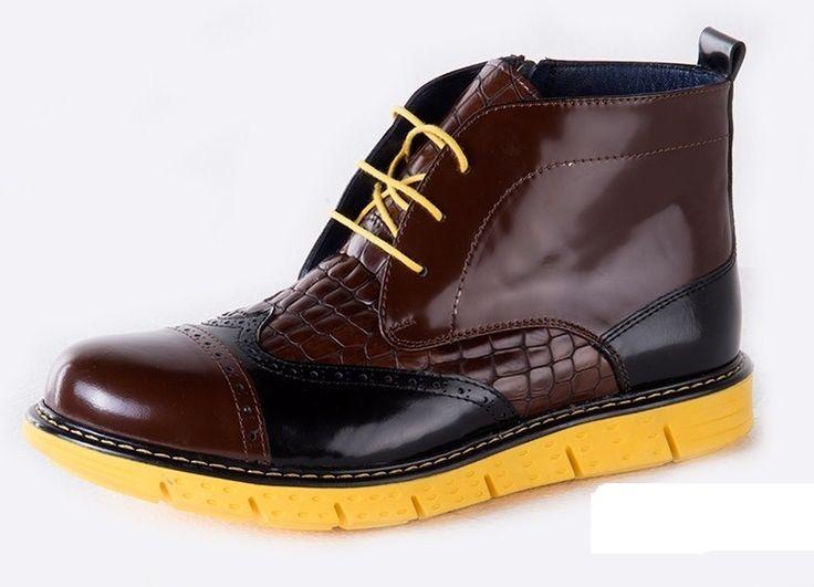 Cipo&Baxx calzado 100% piel contraste. Arriesgarse... Próximamente en nuestra web!