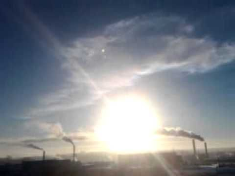 new video meteorite in Russia, Chelyabinsk,
