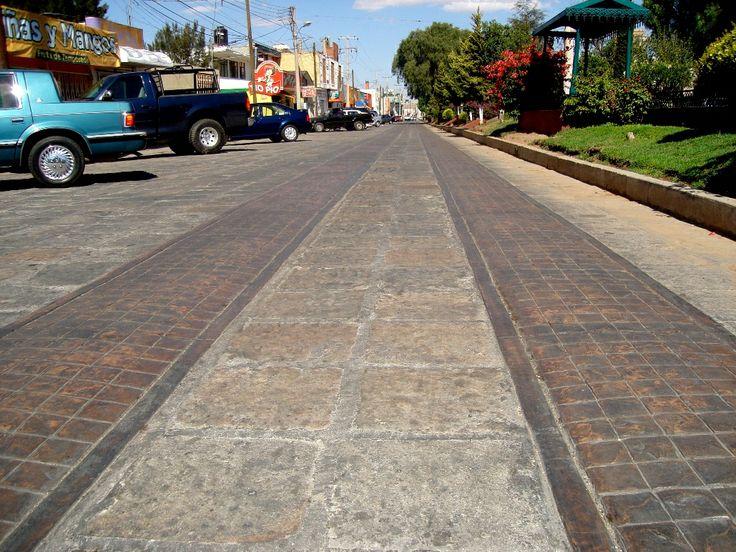 Concreto estampado rotec se puede combinar en vialidades Cemento estampado fotos