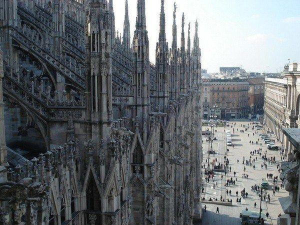 Миланский собор чудо поздней готики - Путешествуем вместе