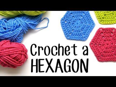 555 besten Crochet Hexagons Bilder auf Pinterest | Häkelmotiv ...