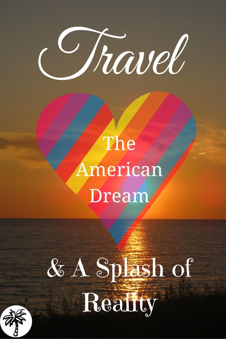 The two extremes of Travel and The American Dream can weigh on you if you try to do it all. With a splash of reality - it's all about finding a balance!