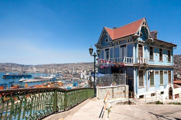 Valparaiso, one of the most beautiful and colourful cities in Latin America.