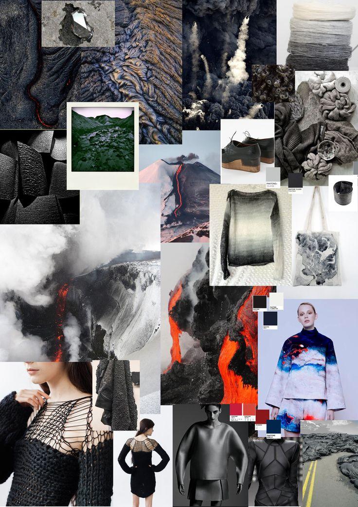 color trend AW 2016-2017 volcano inspiration