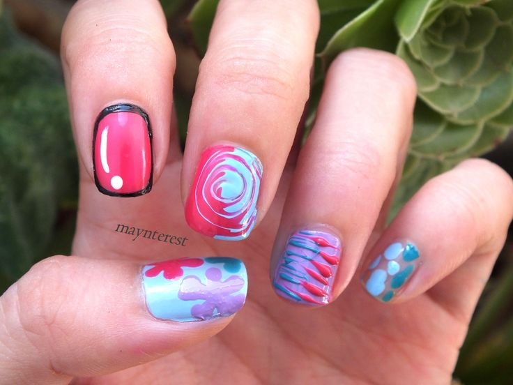 Mejores 38 imágenes de Uñas   Nails * maynterest * en Pinterest   La ...