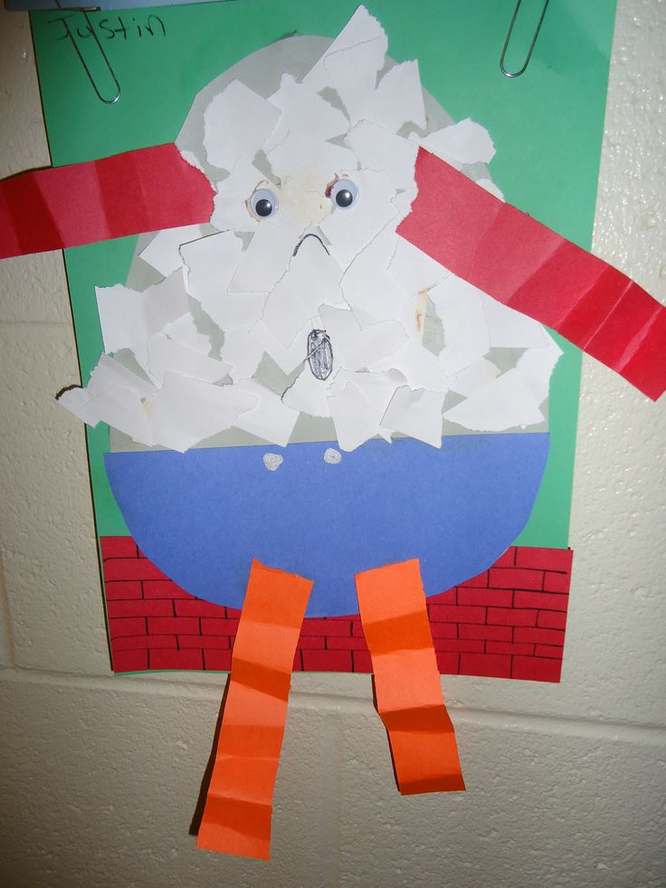 Humpty Dumpty Craft For Toddlers Pipeloop Com